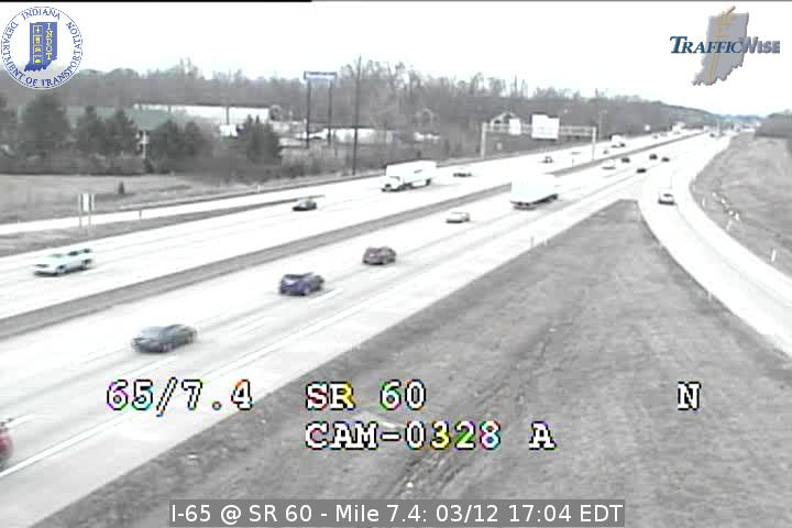 I-65 @ SR 60 Exit 7 Indiana