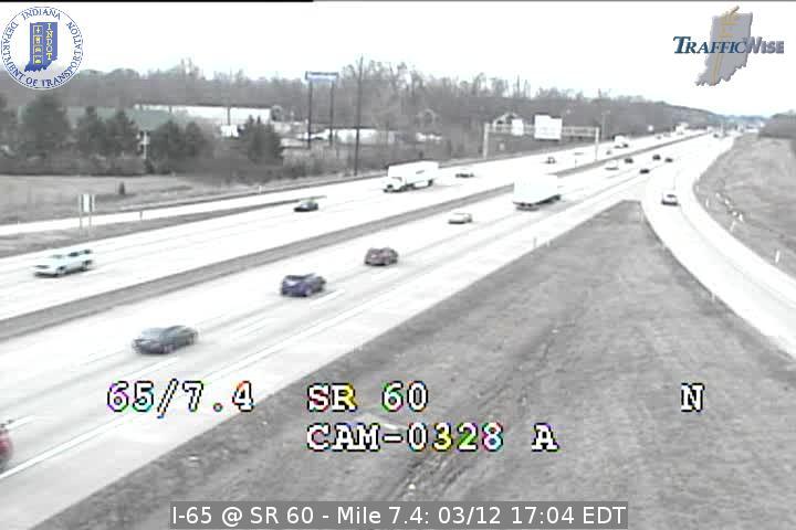 I-65 @ SR 60 Exit 7 Indiana