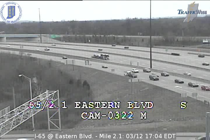 I-65 @ Eastern Ave. Ind. Exit 2 Indiana